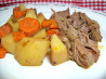 Zesty Slow-Cooker Italian Pot Roast. Recipe by Shellbelle