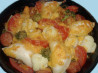 Perogies Casserole - Meal in One. Recipe by Bergy