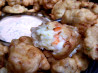 Shrimp-Eggplant Beignets With Remoulade Sauce