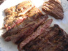 Grilled Herb Marinated Flank Steak. Recipe by Kim127
