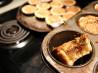 Dad's Butter Raisin Tarts. Recipe by Ann Arber