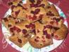 Raspberry Pecan Blondies. Recipe by acerast