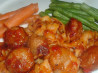 Sweet & Sour Crock Pot Turkey Meatballs. Recipe by Vino Girl