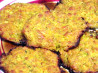 Cheesy  Baked Zucchini, Sweet Potato Patties. Recipe by Rita~