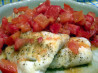 Grilled Cod With Moroccan-spiced Tomato Relish. Recipe by Hey Jude