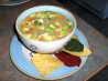 Mexican Chicken Lime Soup. Recipe by Derf