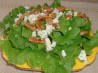 Blue Cheese and Walnut Salad With Maple Dressing. Recipe by Danny Beason