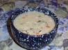Creamy Wild Rice and Mushroom Soup in a Jar. Recipe by Bobtail