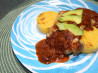 Lime Grilled Chicken and Polenta With A.1. Mole Sauce #A1. Recipe by curlykcook