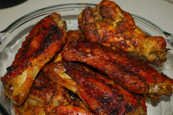 Game day herb roasted turkey wings!, Game day herb roasted turkey ...