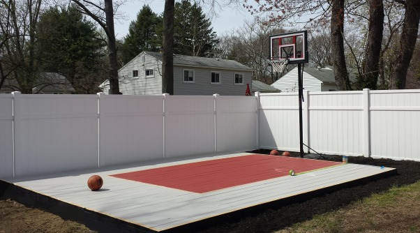 Information about rate my space questions for for Built in basketball court