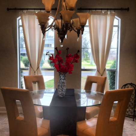 Glam style Dining room, My living room glam style, My new dining room, Dining Rooms Design