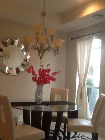 Glam style Dining room, My living room glam style, Dining Rooms Design