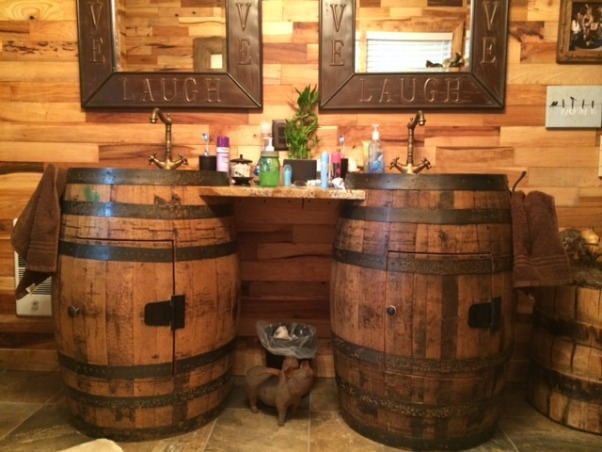 Information about rate my space questions for for Whiskey barrel bathtub