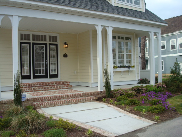 beach house cottage, charming beach house cottage exterior full front porch, Home Exterior Design