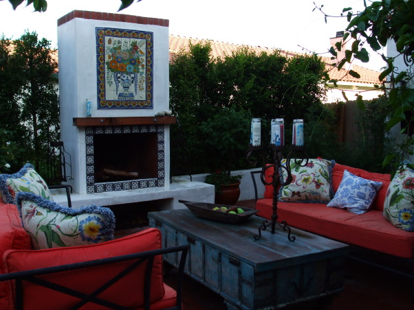 Information about rate my space questions for for Spanish outdoor fireplace