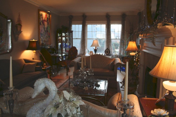 What's old is new again!, Our 1925  home decorated for 2008, Living Rooms Design