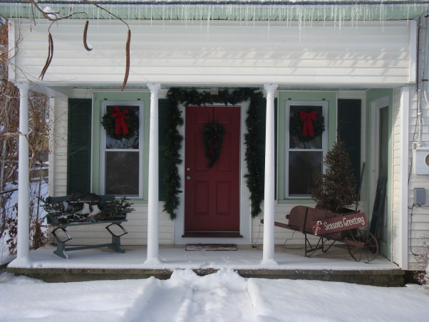 It's going to be a White Christmas!, Some outside pics. Merry Christmas and Happy Holidays from us to you!!!, Home Exterior Design