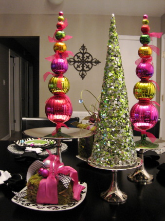 Holiday Cheer, Hope your Christmas was Merry... Happy New Year!!! Here's a fun little table for the holidays. , Dining Rooms Design