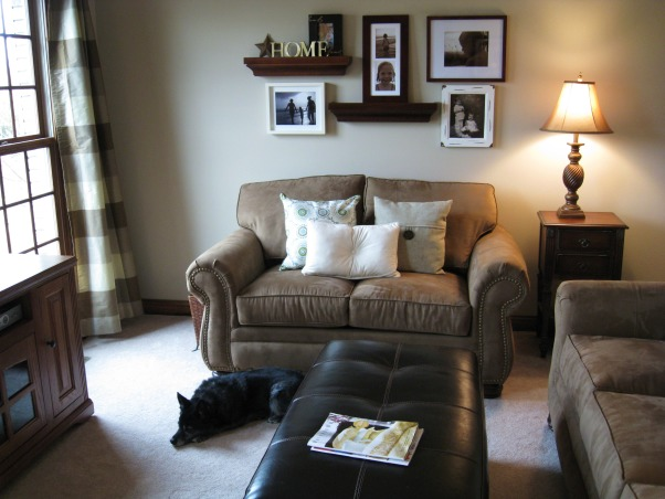cozy, small living room, Trying to decorate with old and new pieces to make our living room, cozy for kids, but comfortable to relax, nice place to sit when sun shines in, Living Rooms Design