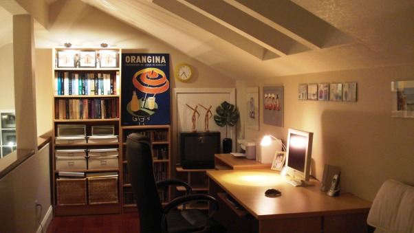 Loft Makeover, after, Home Offices
