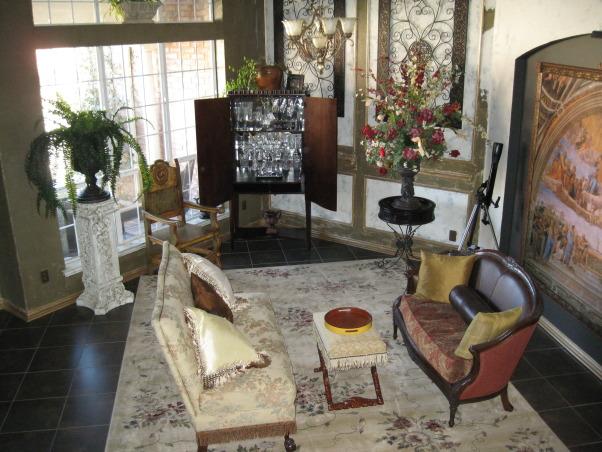 Italian Villa, Inspired Italian Villa living rooms, Living Rooms Design