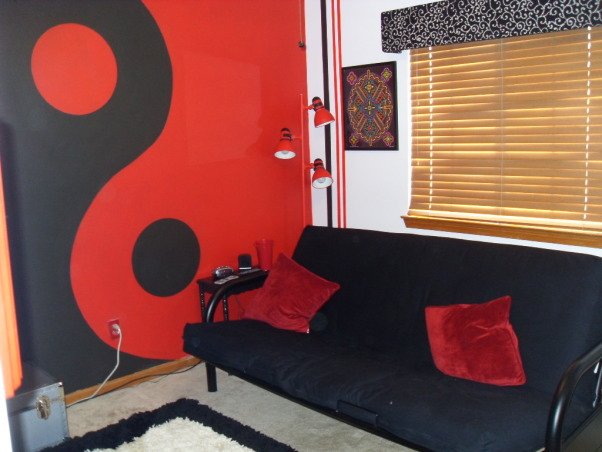 Pre-teen modern bedroom, Modern color splash boys space that will last for years., Finished room is open and fun. Even a college student would like it., Boys' Rooms Design