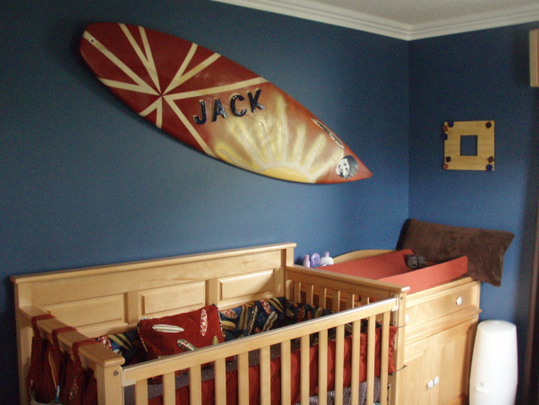 Information about rate my space questions for for Surf nursery ideas