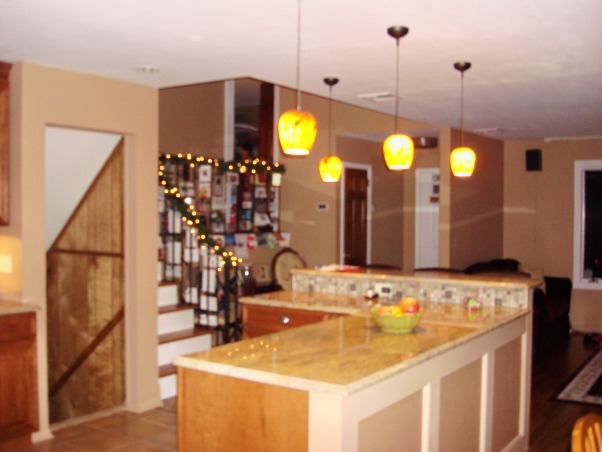 Mama Mia's Cucina, My kitchen is for Mia's Mama, which is me! I am totally in love w/my kitchen, I still can't believe it's mine!!!, This is the new entryway to my kitchen. We knocked down the wall and created an open floor plan. , Kitchens Design