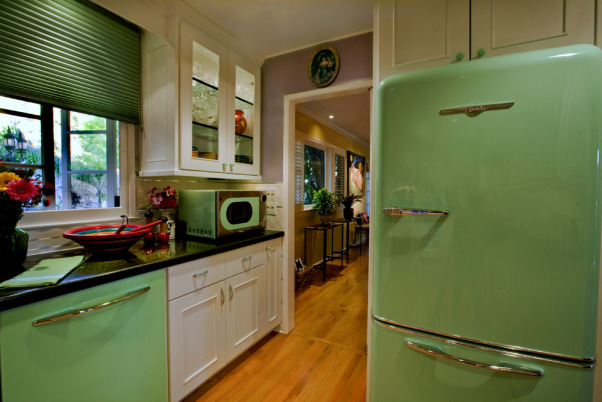 galley kitchen mint green with 1950 39 s modern retro flare modern retro