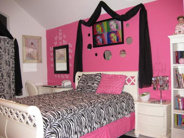 pink black chandelier