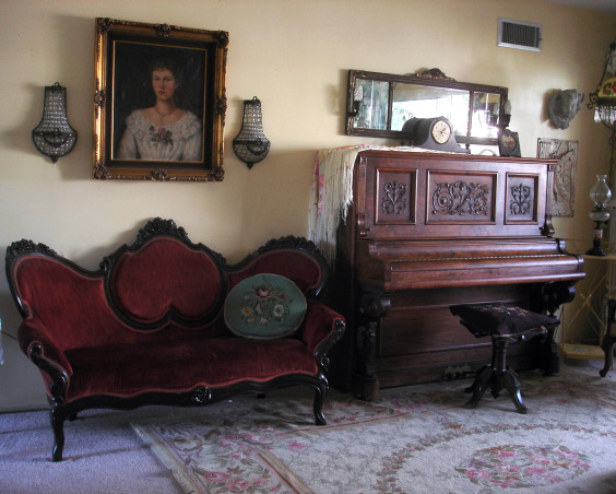 Antique Music Room, I love my music room, ok don't we al want a harp, ok maybe not I don't know but I had to have one even though my space is small., Other Spaces Design