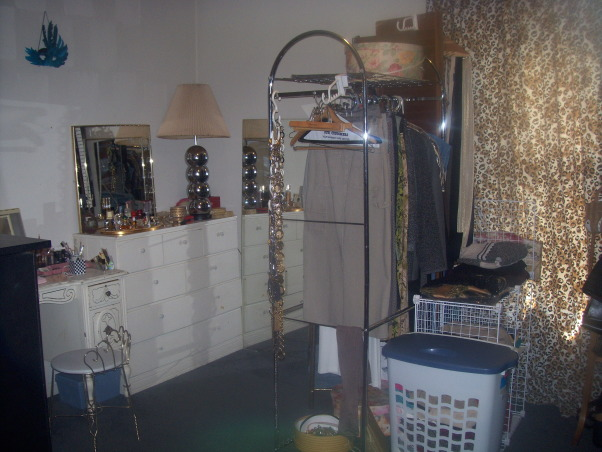 Bedroom turn to Huge walk-In-Closet, This closet is neat, but I think I need a good closet organizer. I never change close size so I have close that are 20 yrs old. I do not buy close anymore I love  what I have. No new tags hanging here, I have classics,and I will not part with them., Dressing area   , Closets Design