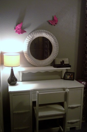 Pink and Black Room, My daughter wanted something a little more grown up for her room and chose the colors Hot pink black gray and white so I came up with this room., Girls' Rooms Design