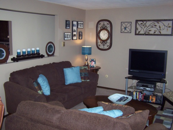 Information about rate my space questions for for Brown green and cream living room ideas