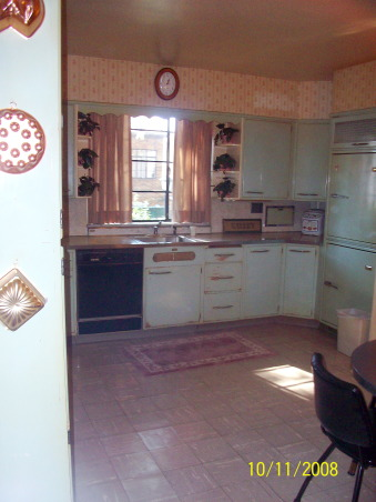 1955 Kitchen, Original 1955 kitchen- We need help to keep the retro style, but update the functionality., Our 1955 original kitchemaid kitchen. We need help to keep the style, but update it., Kitchens Design