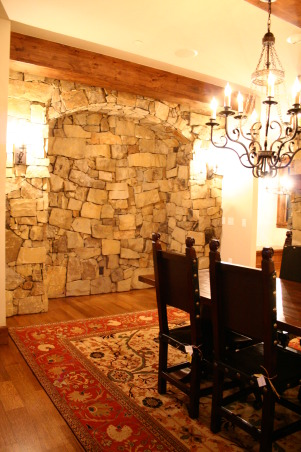 "Old World Mountain Rustic-Dream Kitchen, (Just to clarify, I am not a professional, and this is not my home.) My husband and I built this house in Steamboat Springs, Colorado as a spec. I was the Architectural interior finishes ""designer"". Not sure what the title is there, but there you have it! I have nothing to do with any furniture - just interior finishes. I'd love to hear the general public's opinions. I'll post the other rooms as my newborn allows., Kitchens Design"