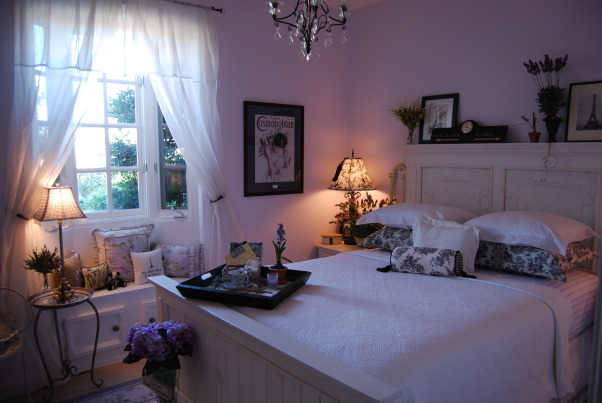 A Whisper of Lavender, I wanted this to have French flair!! , The walls are just hint of lavender., Girls' Rooms Design