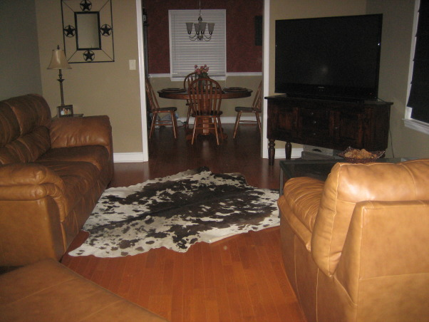 Information about rate my space questions for for Texas themed living room
