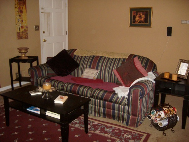 ~Rearrangement in Living Room~, ~With all this moving my furniture around I need a nice nap on this couch~;)♥  , Living Rooms Design