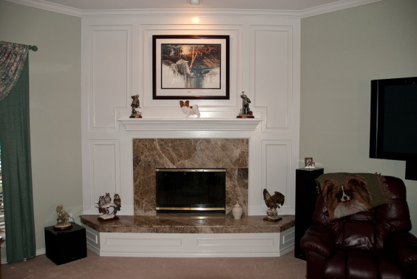 Image Result For Brick Fireplace Makeover