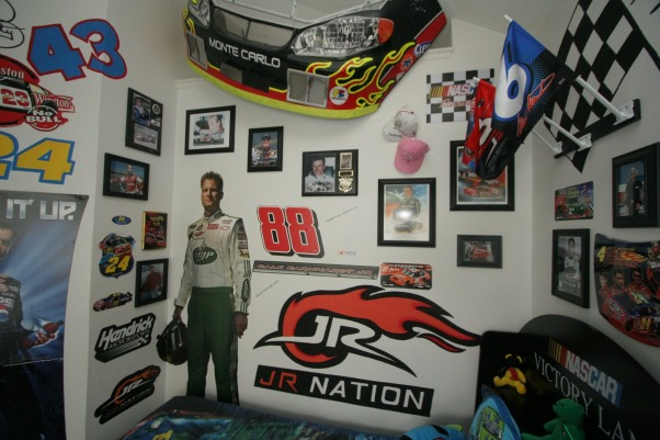 NASCAR BEDROOM by DSNY HOMES, Feel the thrill of racing in this special room., 2nd view of Nascar bedroom, Boys' Rooms Design