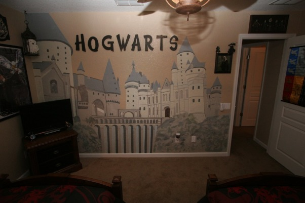 HARRY POTTER BEDROOM BY DSNY HOMES, Hi Everyone, This themed bedroom is in one of our family vacation rental homes near Disney in Orlando. You can view more photos at http://www.dsnyhomes.com   , HOGWARTS , Bedrooms Design