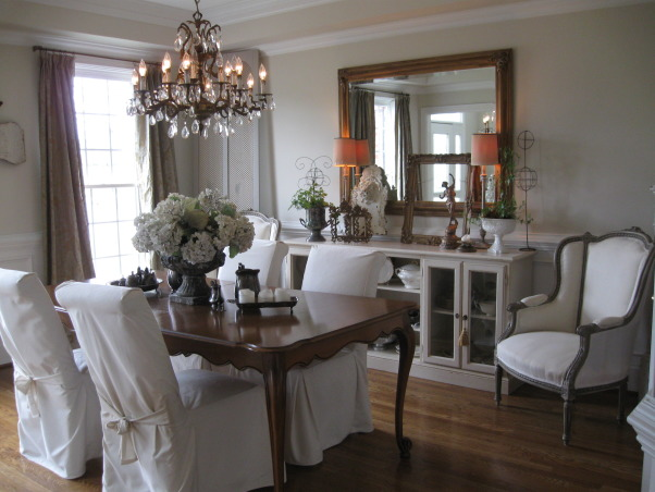 "French Flea Market Dining Room, ""Endless Yard Sale 2008"" finds and Nashville Flea Market treasures!!  , Dining Rooms Design"