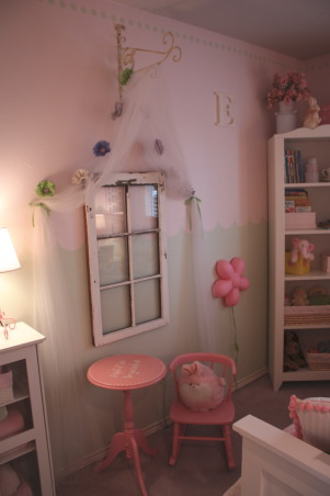 Pink! Pink! And More Pink!, After having two boys I never thought I would have a pink little girl to decorate a nursery for! But, we got our girl and I've had so much fun decorating her bedroom!  Welcome to Ellison's Room!  Visit my blog all about Home at: http://itsthelittlethingsthatmakeahouseahome.blogspot.com/ , Girls' Rooms Design