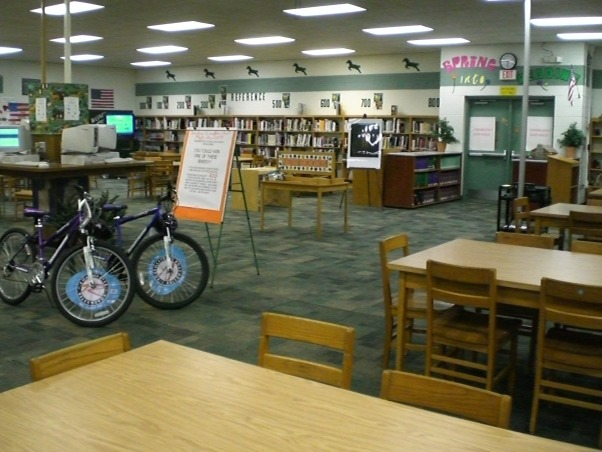School Media Center, NEED HELP!  I have just been added to a committee to makeover our middle school library.  We want to make it look more homey but on a budget of course.  I would appreciate your feedback and ideas to help.  THanks , Other Spaces Design
