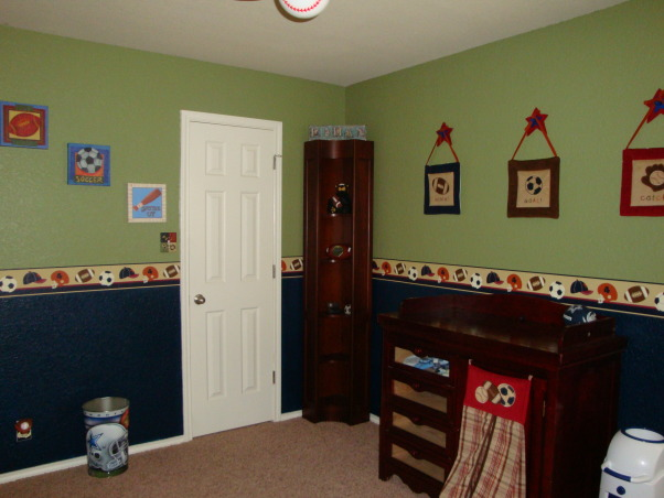 "My Little MVP, This room was designed with love for our ""Little MVP"", Ethan...due at the end of April!, Nurseries Design"