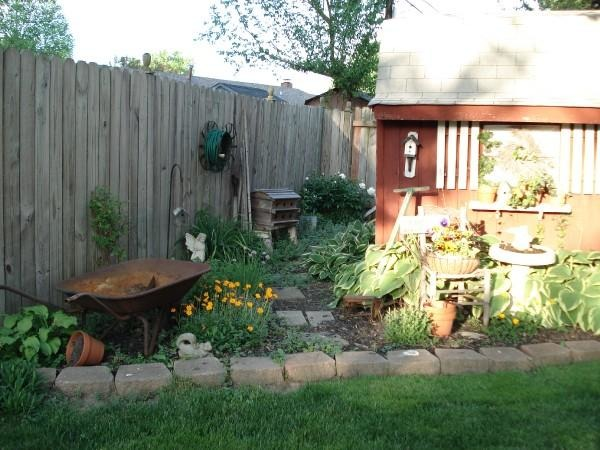 Country Yard, Country Backyard, Home Exterior Design