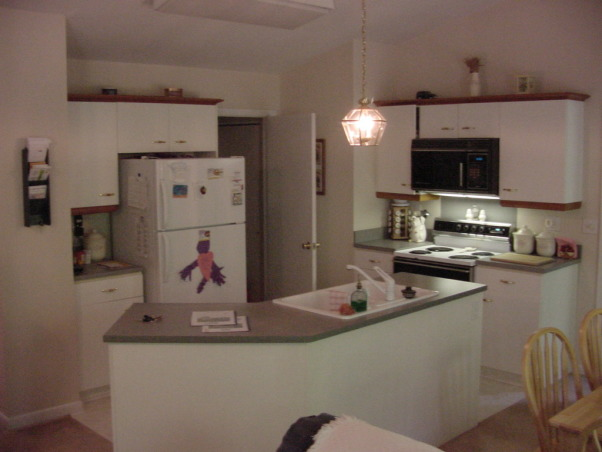 Living / Kitchen / Dining Room, Before and After Renovation shots of our Kitchen/Living/Dining Room.  Some of the before photos are a wreck, but they were taken while some other areas of the renovation had arleady begun. The place was truly a mess and we lived there during the whole process. It was 5 months of living in a spare room and taking the dog outside on a leash to pee, but it was worth it.  A friend pointed out that we neglected to mention that we added about 15 feet off the back of the house to get this amazing room. You can see it on our exterior house pictures., Kitchen Area Before  Renovation (At time of home purchase)     , Living Rooms Design
