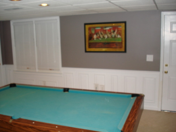 Exercise and Pool Room, Exercise and Pool Room, Pool room, Basements Design